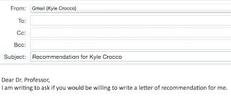 Template Letter Asking For Reference Request Email Sample