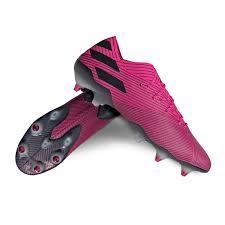bota adidas nemeziz 19 1 sg shock pink core