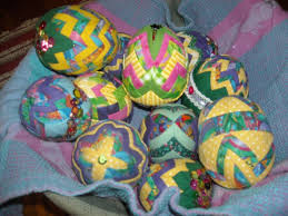 22 best Quilted Easter Eggs images on Pinterest   Christmas balls ... & Quilted Easter Eggs. Styrofoam CraftsQuilted OrnamentsOrnaments ... Adamdwight.com