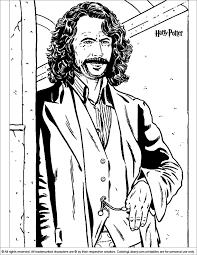 Click on the coloring page to open in a new window and print. Manage Some Mischief With These Harry Potter Coloring Pages
