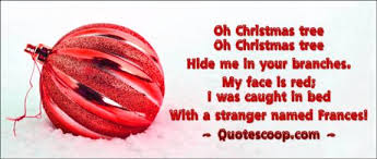 12 humorous and funny christmas poems