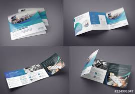 Buy Brochure Templates Square Tri Fold Brochure Layout Buy This Stock Template And