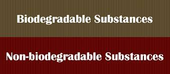 Difference Between Biodegradable And Non Biodegradable
