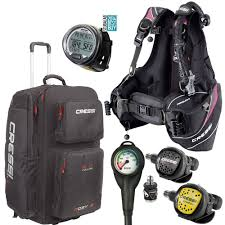 Cressi Travel Light Package Cressi Travelight Womens Package