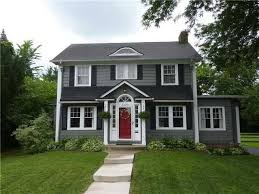 Red houses with white trim Brick Pin By Wanda Mcknight On House Pinterest Dark Gray Houses Grey With Regard To White Trim Nevzatco House White Trim Red Door Doors Color Grey Houses Gray Lorikennedy
