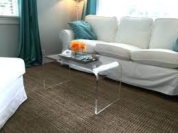 clear coffee table acrylic coffee table acrylic clear coffee table s clear acrylic coffee table