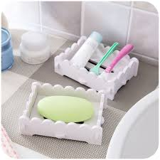 wood bath shower diy plate bathroom decor soap dish holder case container organizer cleaning draining water