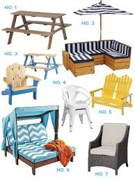 Kids Outdoor Furniture Effortless Style Blog