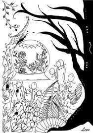 Small Picture Flowers Vegetation Coloring pages 100 Mandalas Zen Anti stress
