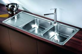 kitchen sink dimensions double size cabinet small