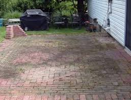 pressure washing your patio the paver