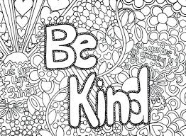Coloring Pages Kindness Coloring Pages For Preschoolers Adults