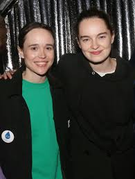 Emma portner and ellen page arrive at the premiere of columbia pictures' flatliners at the ace newlyweds! Who Is Elliot Page S Partner Emma Portner