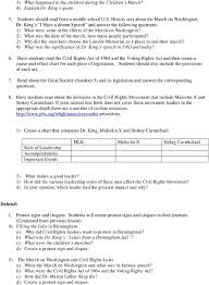 Civil Rights Leaders Chart Historical Literacy Project Pdf Free Download