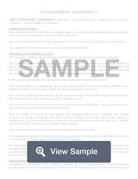 Manufacture and supply agreement contract. Consignment Contract Agreement Template Pdf Sample Formswift