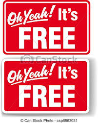 Free Sign Oh Yeah Its Free Store Sign Set