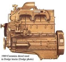first diesel engine. Unique First 1969 Cummins Diesel And First Diesel Engine N