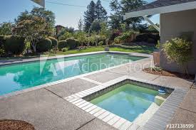 in ground jacuzzi. Stand-Alone In-ground Jacuzzi Next To Pool. In Ground F