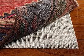 non slip area rug pad 8 x 10 for hard surface floors rug gripper