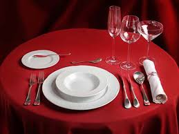 60 round tablecloth poly premier