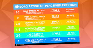 Rate Of Perceived Exertion Chart Introducing The Heart Rate Zone Viewer Thephysicaleducator Com