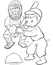 Small Picture Baseball coloring sheets to print Coloring Pages Pinterest