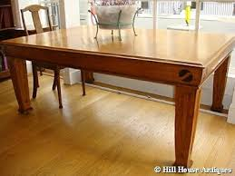 arts and crafts dining table. Arts \u0026 Crafts Large Extending Dining Table - Picture 1 And D