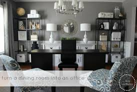 dining room and office. A Dining Room To Home Office Reveal! And C