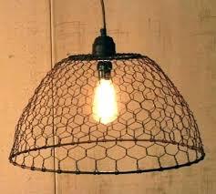 en wire lamp en wire lamp shade wire basket lamp shade en wire basket pendant wire