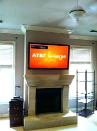 hanging tv over fireplace hanging over fireplace hang over fireplace mounting television gas hanging tv over