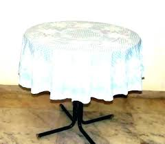 round vinyl table covers tablecloth with elastic lace elasticized oval bunnings