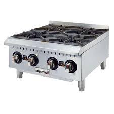 details about winco ghp 4 spectrum hot plate gas countertop 24 4 22 000 btu open burners