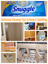cleaning tips for the bathroom