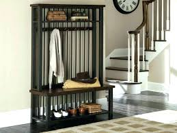Hall Coat Racks Extraordinary Entryway Coat Rack And Storage Bench Entryway Bench With Coat Rack