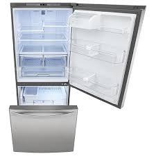 kenmore bottom freezer refrigerator. bottom-freezer refrig; 046079023000 kenmore elite 79023 22.1 cu. ft. bottom freezer refrigerator .