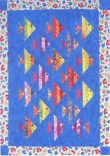 Fish Quilt Pattern | eBay & 1 FISH, 2 FISH QUILTING PATTERN, A Strip Club Pattern From Cozy Quilt  Designs Adamdwight.com