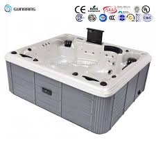 china fashionable outdoor portable rectangular spa hot tub for a family of 5 person china 5 person hot tub rectangular hot tubs