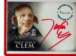Buffy summers knows this tale by heart, and no matter how hard she tries to be just a normal girl, she can not escape from her. Buffy The Vampire Slayer Autograph James Leary Clem Collectables Photographs