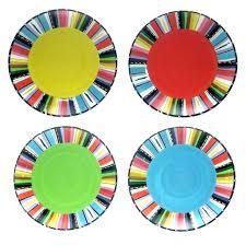 multi colored dishes bright colored dishes bright colored dish sets add a bright pop to your