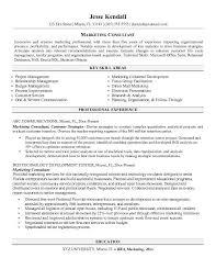 marketing consultant resume http jobresumesample com 550