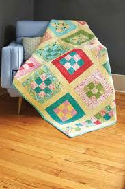 2184 best Quilt ideas images on Pinterest   Carpets, Children and ... & Always a favorite, the Nine-Patch quilt block is simple alone or prominent  when Adamdwight.com