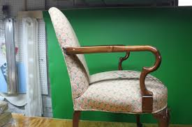 queen anne arm chair before tear down used to refference details