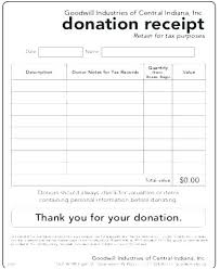 Church Donation Form Template