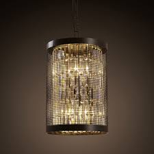 get ations american country crystal small wrought iron chandelier single head restaurant bedroom hallway hallway off the mysterious