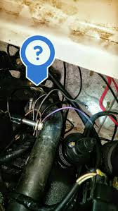 1999 mercruiser alpha 4 3l 2bbl engine wiring harness question of the engine and is grounded against the block along the battery cable there should also be one going from the same bolt to the transom plate to