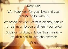School Prayer - Hathern Primary School