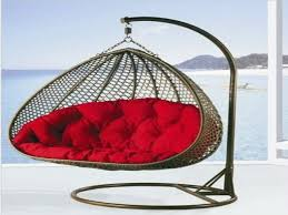 outdoor swing chair with stand designs