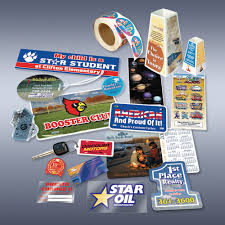 custom labeling stickers custom decals labels stickers catalog prographics ad specialties
