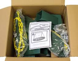 diy classic hardware kit in box with swing set plans