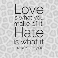 Love And Hate Quotes Inspiration Jealousy Quotes Love Is What You Make Of It Hate Is What It Makes